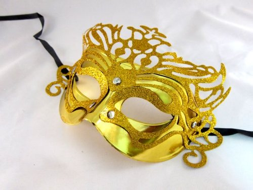 Lady! Venetian Mask Gold / Halloween Halloween Cosplay Costumes Fancy Dress Costume Party Goods Party Costume