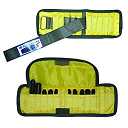 CanDo Adjustable Wrist Weight, Yellow, 2 Pound