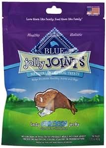 Blue Buffalo Jolly Joints Chicken Jerky Dog Treats, 3.25-Ounce
