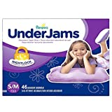 Pampers UnderJams Absorbent Nightwear Size 7, Big Pack Girl, 46 Count