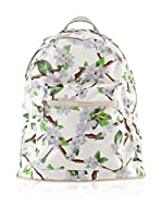 Housebags Mochila (Blanco / Verde)