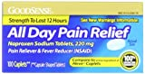 Good Sense All Day Pain Relief, Naproxen Sodium Caplets, 220mg, 100-count