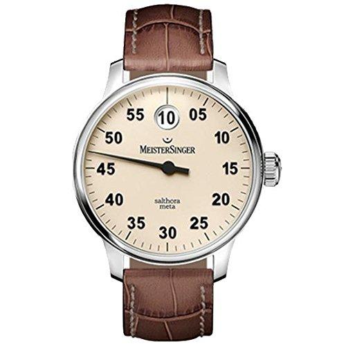 MeisterSinger reloj hombres automática Salthora Meta SAM903