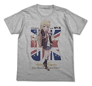 きんいろモザイク 九条カレン フルカラー Tシャツ ヘザーグレー