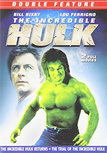DVD : The Incredible Hulk Returns / The Trial of the Incredible Hulk (Full Frame, Dolby, Mono Sound)