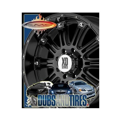 18 Inch 18x9 KMC XD SERIES wheels HOSS Gloss Black wheels rims