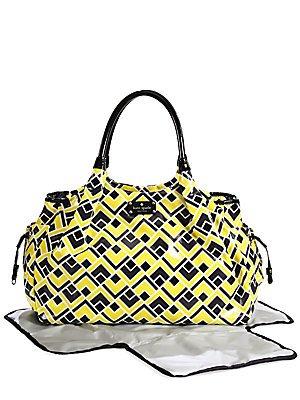 Kate Spade Flicker Stevie Baby Diaper Bag Tote Multi front-246593