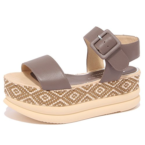 8913P sandalo PALOMITAS BY PALOMA BARCELO tortora scarpa donna sandal woman [39]
