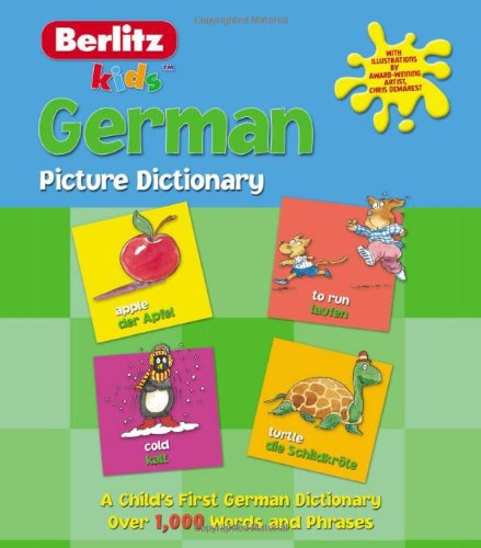 German Picture Dictionary (Kids Picture Dictionary)
