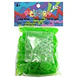 Rainbow Loom Refill - Jelly Lime Green
