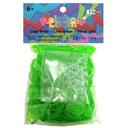 Rainbow Loom Refill - Jelly Lime Green
