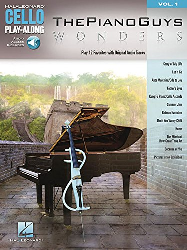 Wonders: Play 12 Favorites With Original Audio Tracks (Hal-Leonard Cello Play-Along)