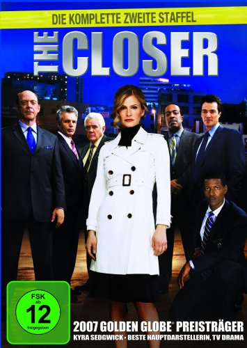The Closer - Die komplette zweite Staffel [4 DVDs]