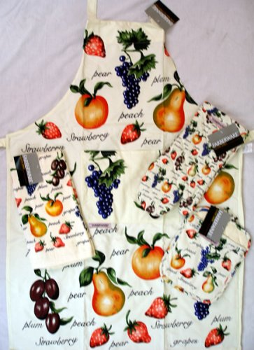 Farberware Fruit Dish Towel - Buy Farberware Fruit Dish Towel - Purchase Farberware Fruit Dish Towel (Bed and Bath, Home & Garden, Categories, Kitchen & Dining, Kitchen & Table Linens, Dish Cloths & Dish Towels)