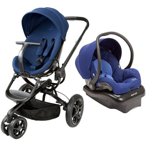 Quinny Moodd Travel System, Blue Reliance front-876034