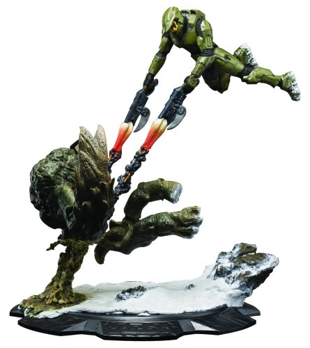 Picture of Dark Horse Weta Collectibles: Halo 3: Master Chief vs. The Flood Statue Figure (B001O5C9KY) (Halo Action Figures)
