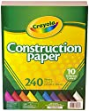 Crayola Construction Paper, 240 Count…
