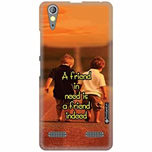 Printland Back Cover For Lenovo A6000 Plus - Friend Designer Cases