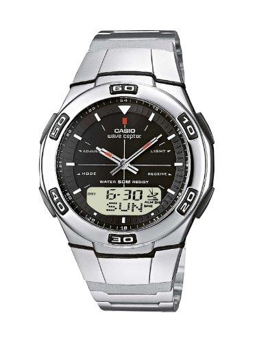 Funkuhren Herren-Armbanduhr Analog / Digital Quarz WVA-105HDE-1AVER