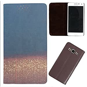 DooDa - For LG G4 Stylus PU Leather Designer Fashionable Fancy Flip Case Cover Pouch With Smooth Inner Velvet