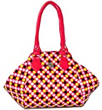 Indian Stallion Stylish Polka Hand Bags (Red)