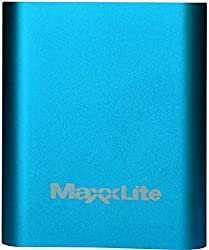 Maxxlite 10400mAh Aluminum Casing Power Bank Blue