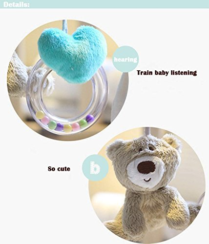 wallcart-Kids-Baby-Lovely-Musical-Soft-Animal-Crib-Plush-toy-Developmental-Rattle-Toy