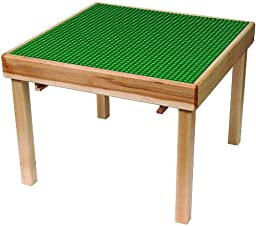 LEGO Education 6099598 Green Durable Hardwood Flip Top Playtable