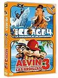 Pack: Ice Age 4 + Alvin Y Las Ardillas 3 [DVD] en Castellano