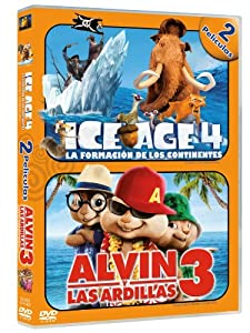 Amazon.com: Pack: Ice Age 4 + Alvin Y Las Ardillas 3