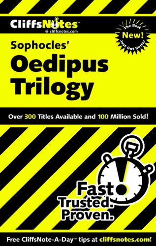 Notes on Sophocles' Oedipus Trilogy (Cliffs Notes)