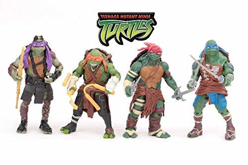 TMNT Teenage Mutant Ninja Turtles PVC Action Figure Toy Dolls