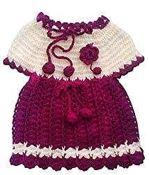 Durga Unne Ghar Kids Sweater (Durga Unne Ghar-8_Maroon _2-4 Years )