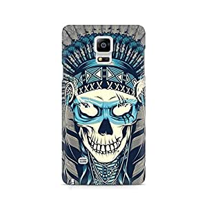 Mobicture Indian Skull Premium Printed Case For Samsung Note 4 N9108