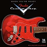 Fender® Custom Shop Guitar 2014 Wall (calendar)