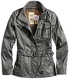 Surplus Femme imperméable manteau Cagoule M65 Armored Vintage, Couleur: Grey, Taille: 42