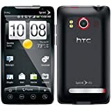 Sprint HTC Evo 4G Android Cell Phone (Black), Without Contract