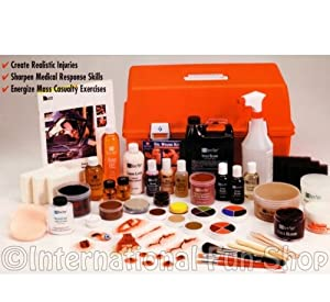Moulage Training Kit for Emergency Reenactment Professionals by Ben Nye