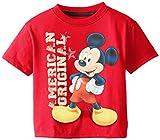 Disney Little Boys' Mickey American Original Toddler Boy Tee