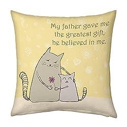 Papa Cushion For Dad Papa Birthday Anniversary Fathers Day
