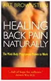 img - for Healing Back Pain Naturally: The Mind-body Programme Proven to Work book / textbook / text book