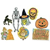 Halloween Decorama Party Accessory (1 count) (8 Pkg)