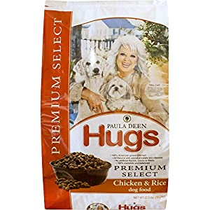 Paula Deen by Hugs Premium Select Dog Food, Chicken and Rice, 22.5 lb