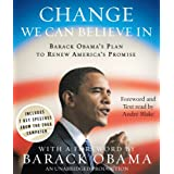 "Change We Can Believe In: Barack Obama's Plan to Renew America's Promisevon ""Barack Obama"""