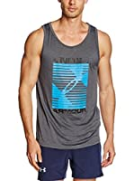 Under Armour Top Ua Turned Up Tank (Carbón)