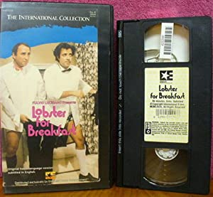 Amazon.com: Lobster for Breakfast [VHS]: Enrico Montesano ...