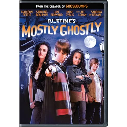 51OwetvBhBL. SS500  DVD Review: RL Stines Mostly Ghostly