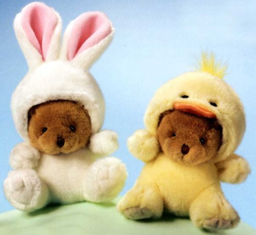 Teddy Bears in Bunny Rabbit and Chick Suit Plush Stuffed Animal - Buy Teddy Bears in Bunny Rabbit and Chick Suit Plush Stuffed Animal - Purchase Teddy Bears in Bunny Rabbit and Chick Suit Plush Stuffed Animal (Russ, Toys & Games,Categories,Stuffed Animals & Toys,Teddy Bears)