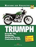 Triumph: Bonneville-Modelle: Bonnville, T100, Speedmaster, America und Thruxton (Zweizylinder ab 2001)