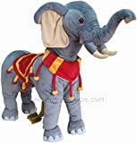 UFREE Walking Elephant for Kids 3 - 5 Years, Ride on and Turning